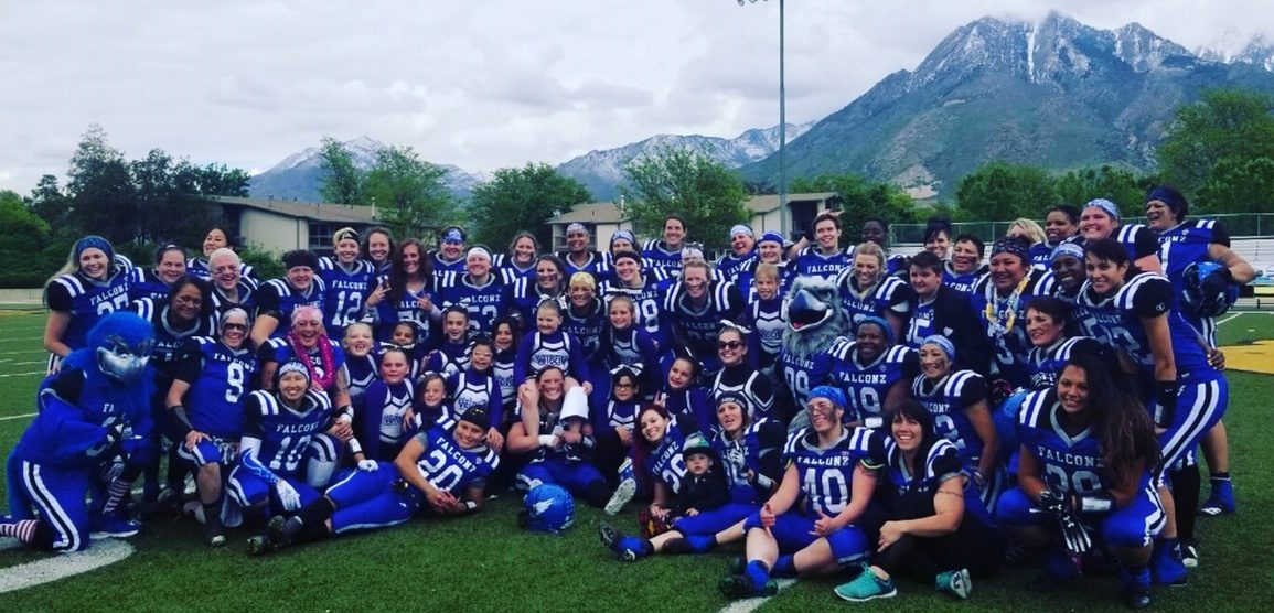 Women's National Football Conference WNFC We cheer for the Falconz at Highland High School in the Spring. We are looking for cheerleaders for the 2021 season. Please contact us if you have a child athlete interested in participating. We cheer at the home games only, but that is usually 3-4 games. In the future we would like to travel with our girls!